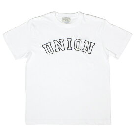 7UNION 7ユニオン The Union Tee 半袖 Tシャツ IAXY-003C ホワイト