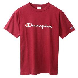 チャンピオン Tシャツ メンズ CHAMPION ベーシック チャンピオン 19SS マルーン ワインカラー S-XXL C3-P302