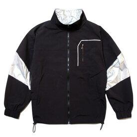 ナインルーラーズ ジャケット メンズ レディース 送料無料 NINE RULAZ LINE Nylon Track Jacket ナイロン トラックジャケット ストリート レゲエ ブランド M-XXL ブラック NRAW19-001
