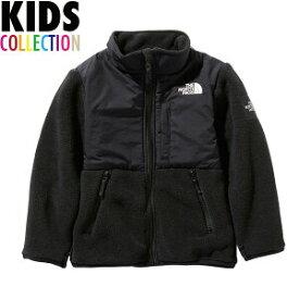 ノースフェイス キッズ デナリジャケット 送料無料 THE NORTH FACE Kids Denali Jacket フリース ジャケット アウター ユニセックス 男の子 女の子 誕生日 ギフト プレゼント 出産祝い northface ロゴ ブラック 110-150サイズ NAJ71943