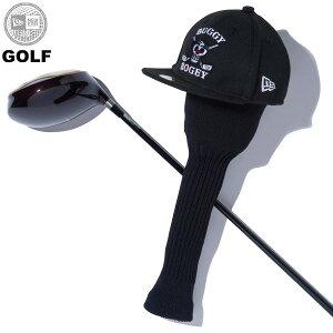 ニューエラ ゴルフ ワンピース NEW ERA ヘッドカバー ONE PIECE バギー ドクロ 海賊旗 送料無料 newera CAP 帽子 ニューエラキャップ おしゃれ プレゼント ブラック ワンサイズ 12541317
