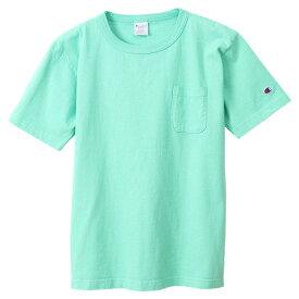チャンピオン Tシャツ メンズ 送料無料 CHAMPION T1011 US 半袖Tシャツ MADE IN USA おしゃれ ブランド プレゼント ミント S-XL C5-R305
