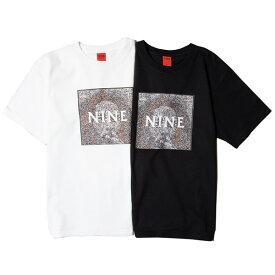 ナインルーラーズ Tシャツ 送料無料 NINE RULAZ LINE MOSAIC TEE tシャツ 半袖 ティーシャツ ユニセックス ninerulaz ストリート REGGAE レゲエ ボブ・マーリー ジャマイカ NRL おしゃれ プレゼント M-XXL 全2色 NRSS21-004