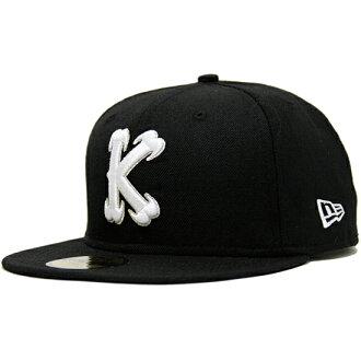 """列王纪上""""K""""原新时代帽 / 黑 x 白王帽 (新时代)"""