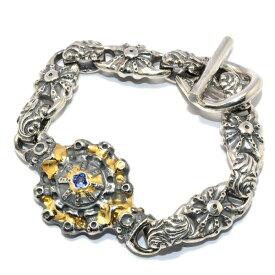 BWL(ビルウォールレザー) Custom SUN Bracelet w/Tanzanite サンブレスレット w/タンザナイト/BWL