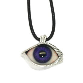 CRAZY PIG DESIGNS(クレイジーピッグ) LASH EYE HUMAN PURPLE PENDANT #45