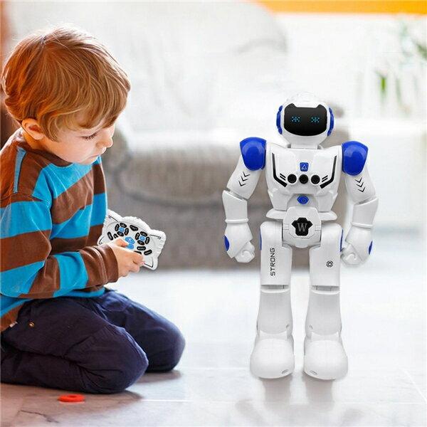 【送料無料】電動ロボット おもちゃ プログラム可能 ジェスチャ制御 リモコン コントロール 多機能ロボット 歩く 滑走 音楽 ダンス 人型ロボット 電子玩具 USB充電式 プレゼント ギフト 男の子 ラジコンロボット 子供に