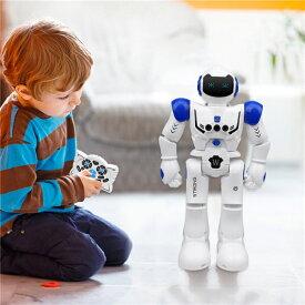 送料無料 電動ロボット おもちゃ プログラム可能 ジェスチャ制御 リモコン コントロール 多機能ロボット 歩く 滑走 音楽 ダンス 人型ロボット 電子玩具 USB充電式 プレゼント ギフト 男の子 ラジコンロボット 子供に