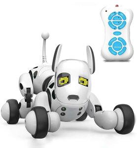 ロボット犬のおもちゃ 子供のおもちゃ 電子ペット 子供ロボット 親子のおもちゃ 犬 動く おもちゃ 男の子 女の子 誕生日プレゼント スマートドッグトーキング おもちゃ (ホワイト)【楽天海