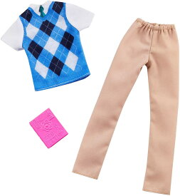 バービー ケン ファッションパック 理科の先生 /洋服、本 [Barbie Clothes -- Career Outfits for Ken Doll, Science Teacher /MATTEL/GHX42]