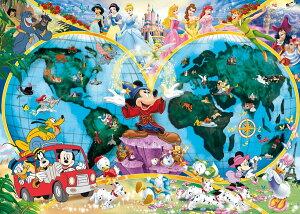 【10/25限定 ポイント10倍】ディズニー ジグソーパズル 1000ピース 世界地図 (Disney/ Ravensburger Puzzle/15785) ミッキーマウス ドイツ製 ラベンスバーガー