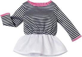 バービー ファッション ペプラム・ストライプトップス/ 服 (Barbie Fashion Pack, Peplum Stripe Top/ MATTEL/ DHH44)