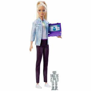 バービー ロボットエンジニアドール [Barbie Careers Robotics Engineer Doll, Blonde / MATTEL/ FRM09/人形]