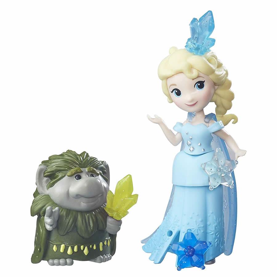ディズニープリンセス リトルキングダム エルサ・パビーセット (アナと雪の女王/Disney Frozen Little Kingdom Elsa and Grand Pabbie /Hasbro/B5185)