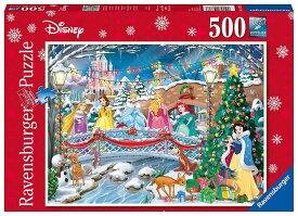 ディズニー ジグソーパズル 500ピース ディズニープリンセスのクリスマス (Disney/ Ravensburger Puzzle/14778)