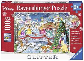 ディズニー ジグソーパズル 100ピース ディズニープリンセスのクリスマス (Disney/ Ravensburger Puzzle/10794)