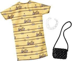 バービー ファッションパック ミニオン 怪盗グルーの月泥棒 イエローワンピース(Barbie Despicable Me Yellow Dress Fashion Pack / MATTEL/FKR73 / 服 かばん アクセサリー)