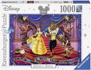 ディズニー ジグソーパズル 1000ピース 美女と野獣 (Disney/Beauty and the Beast/Ravensburger Puzzle/19746)