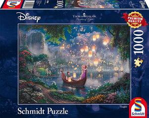 ディズニー ジグソーパズル 1000ピース 塔の上のラプンツェル トーマス・キンケード (Thomas Kinkade, Disney Rapunzel/Schmidt Spiele Puzzle/59480)