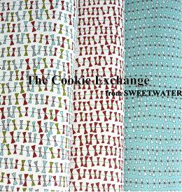 【ポイント10倍】生地 モダUSAファブリック《スモールリボン》【50cm単位販売 メール便は3mまで可能】【moda fabrics/布/布地/リボン柄/USAコットン】(MA23)