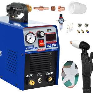 プラズマカッター プラズマ切断機 PLC55X 100/200V兼用 アップグレードパネル 家庭用 DIY 初心者向き