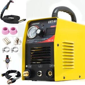 プラズマ切断機 cut60プラズマ切断機 プラズマカッター 空気プラズマ切断機 100/200V兼用 送料無料 家庭用 素人用