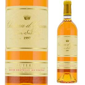 シャトー・ディケム 1997 750ml 貴腐ワイン ソーテルヌ 格付1級 Sauternes chateau d'Yquem※北海道・東北地区は、別途送料1000円が発生します。