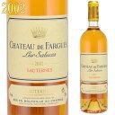 シャトー・ド・ファルグ 2002 750ml 貴腐ワイン ソーテルヌ リュル・サリュース家 Chateau de Faurgues リュル・サリュース