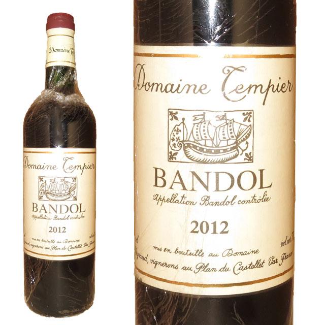 ドメーヌ・タンピエ バンドール・ルージュ 2012 750ml Bandol AOC, Rouge