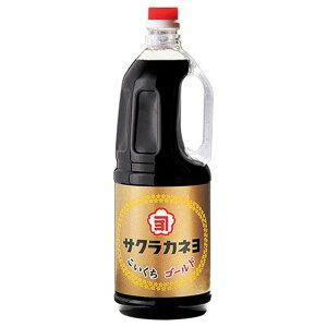 サクラカネヨ こいくち醤油 ゴールド 1.8L  吉村醸造 濃口醤油 鹿児島醤油