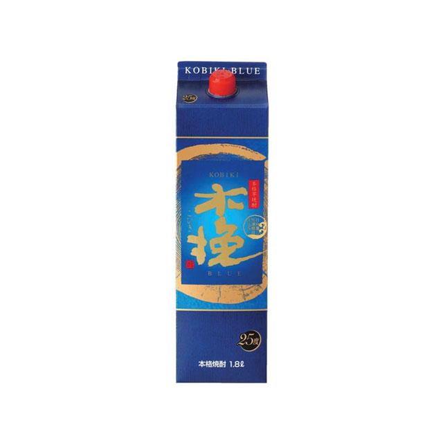 木挽 BLUE 25度 パック 1.8L