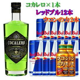 コカレロ1本&レッドブル12本&ウコンの力100ml2本 ※北海道・東北地区は、別途送料1000円が発生します。