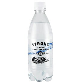 強炭酸水 STRONG 500ml×24本 1ケース