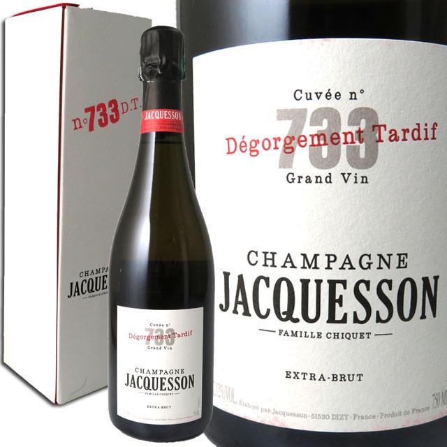ジャクソン キュヴェ733 デゴルジュマン・タルディブ DT 箱入  JACQUESSON CUVEE 733 DEGORGEMENT TARDIF