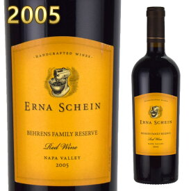 ベーレンス&ヒッチコック ベーレンス・ファミリー・リザーブ 2005 750ml赤 レッドワイン Behrens & Hitchcock Napa Valley Behrens Family Reserve Red wine カリフォルニアワイン ナパヴァレー※北海道・東北地区は、別途送料1000円が発生します。