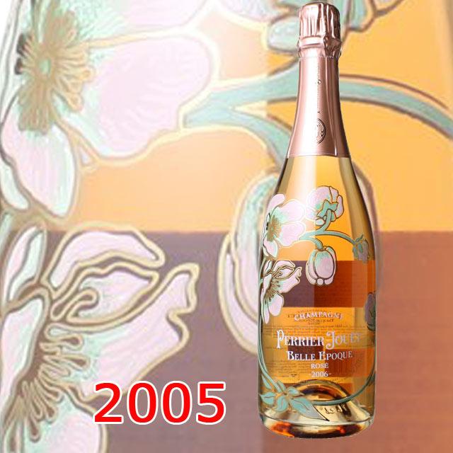 ペリエ・ジュエ ベルエポック・ロゼ 2005 箱無 750ml PERRIER-JOUET BELLE EPOQUE ROSE