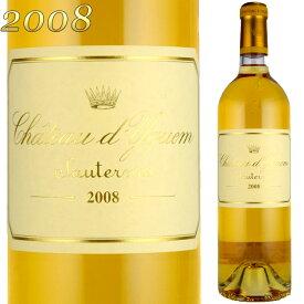 シャトー・ディケム 2008 750ml 貴腐ワイン ソーテルヌ 格付特別1級 Chateau D'Yquem ※北海道・東北地区は、別途送料1000円が発生します。