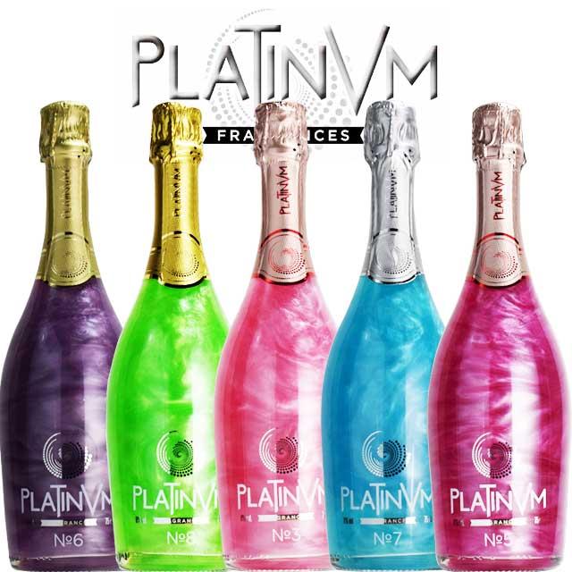 プラチナムフレグランス 5本セット 【スパークリングワイン 甘口】