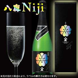 純米 日本酒スパークリング Niji 虹 八鹿酒造 720ml箱入