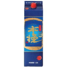 木挽BLUE 20度 パック 1800ml 雲海酒造 パック