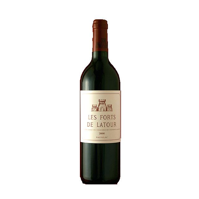 レ フォール ド ラトゥール 2000 750ml Les Forts de Latour