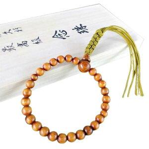 屋久杉 高級念珠 (女性用) 米玉利住工 屋久杉 高級 念珠 木製 天然