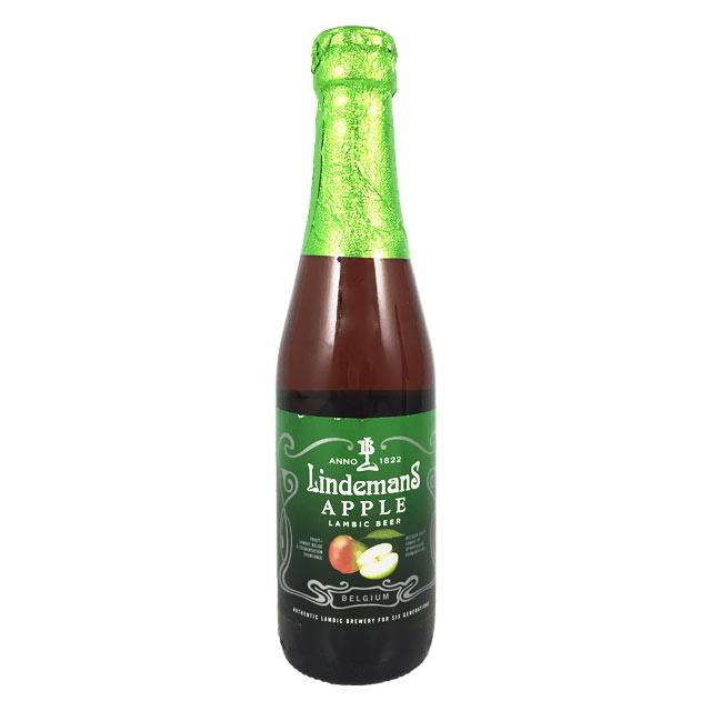 リンデマンス アップル 250ml瓶 ランビック Lindemans 【ベルギービール フルーツビール】
