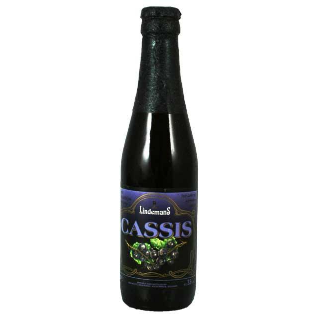 リンデマンス カシス 250ml瓶 ランビック Lindemans  【ベルギービール フルーツビール】