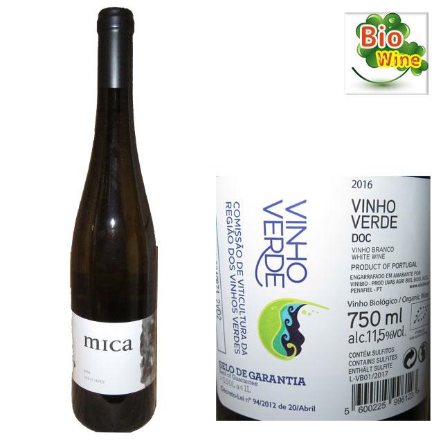 mica ビニヴィオ・ミカ ヴィーニョ・ヴェルデ 750ml ビオワイン Vinho Verde
