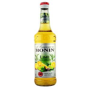 モナン コーディアル ライム果汁 瓶 700ml