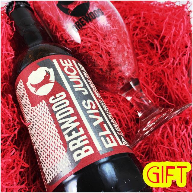 ブリュードッグ エルビスジュース グラス付 ビアギフト Brewdog Elvis Juice 【クラフトビール】