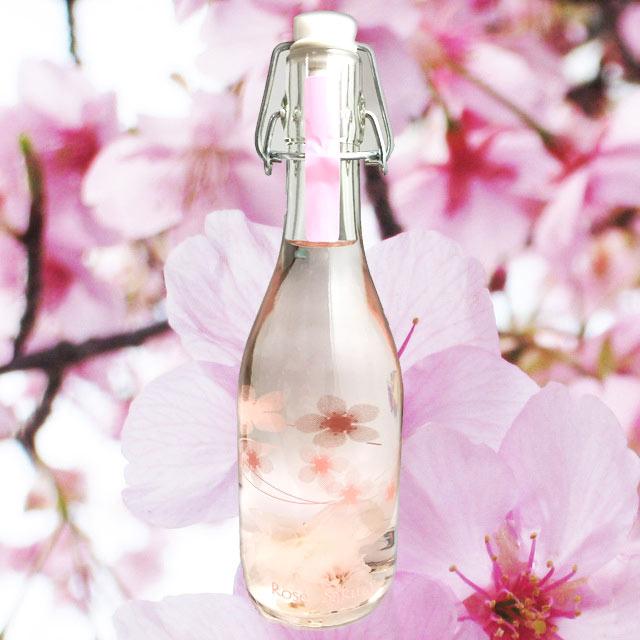 ロゼサクラ 桜 375ml 白百合醸造 【ロゼサクラ Sakura】