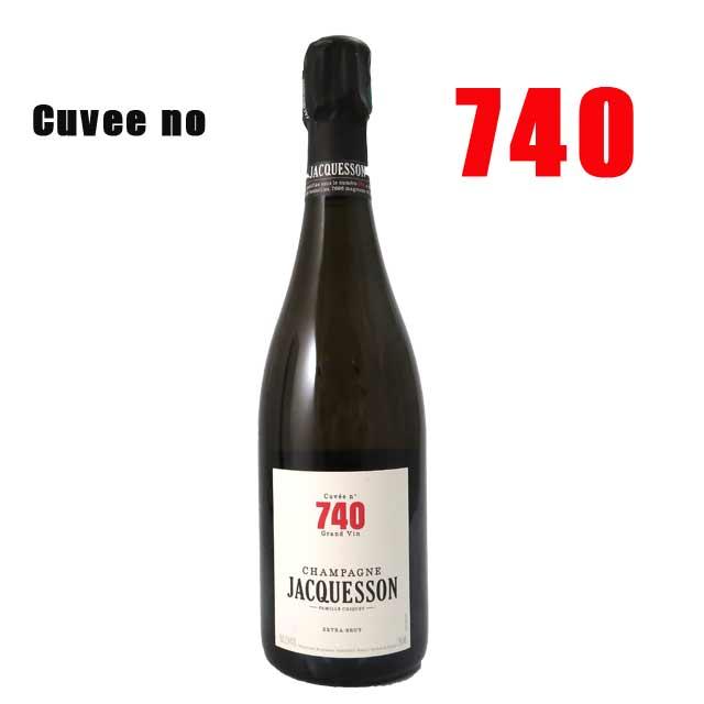 ジャクソン キュヴェ 740 エクストラ・ブリュット 白 箱入750ml Champagne Jacquesson Cuvee NV