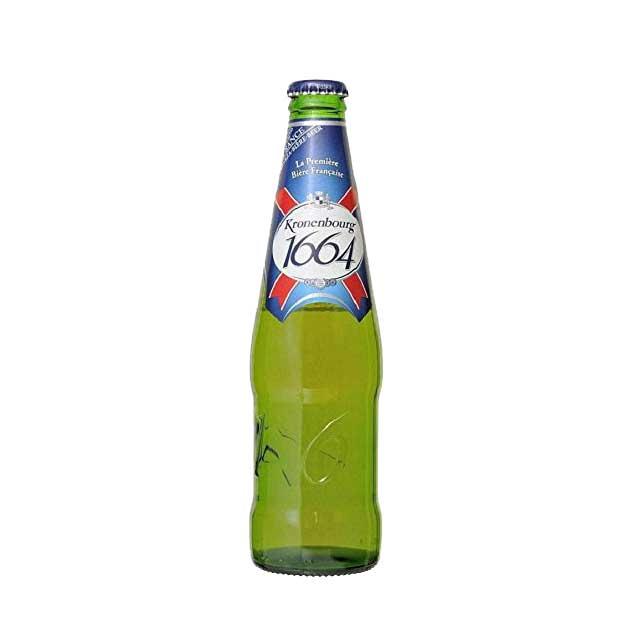 クローネンブルグ 1664 330ml瓶 ピルスナー 【フランスビール アルザス】